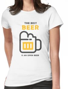 The Best Beer Womens Fitted T-Shirt