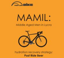 Cycling T Shirt - MAMIL (middle aged men in lycra) Hydration T-Shirt
