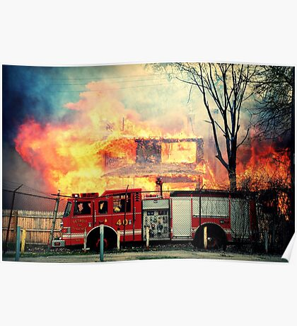 Detroit Fire Department  Poster