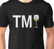 TM Wine (White Ink/White Wine) Unisex T-Shirt
