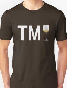 TM Wine (White Ink/White Wine) Unisex T-Shirt