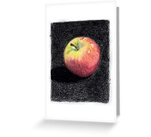 Apple - Red Delicious Greeting Card