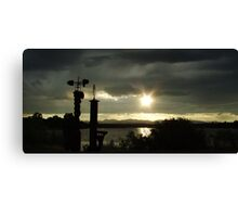 Sterling Silver Canvas Print