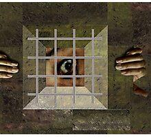 EYE OF THE PRISONER Photographic Print