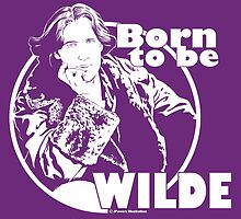 Born to be Wilde by Jeff Powers Illustration