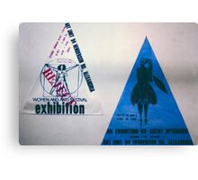 Two Art Unit Posters  Canvas Print
