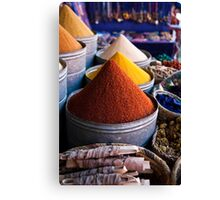 Spices of Marrakesh Canvas Print