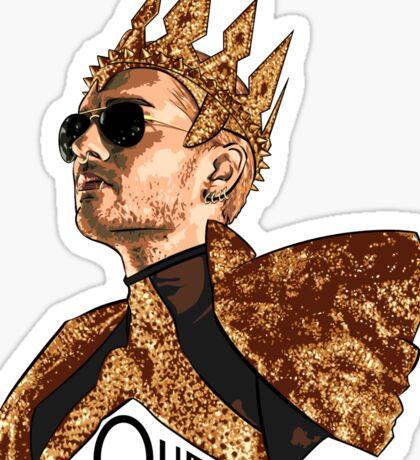 Queen Bill - Black Text Sticker