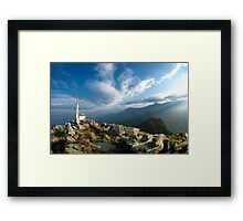 The Heaven on The Earth Framed Print