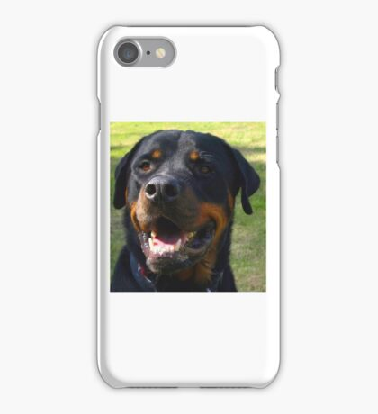 A Rottie smile iPhone Case/Skin