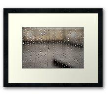 Spiritual Kloth For The Love of Rain by Kordial Orange Framed Print