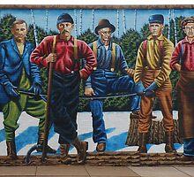 Ashland Mural Walk: The Lumberjacks by AuntieJ