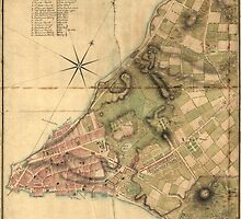 A Plan of the City of New York Map (1776) by allhistory
