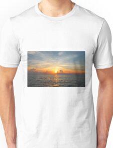 Caribbean Ocean Sunset Unisex T-Shirt