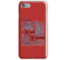 Cycling T Shirt - Road Cyclist iPhone Case/Skin