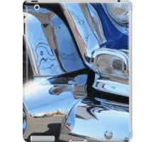 1955 GMC Pickup Street Rod Chrome Bumper - Liquid Metal iPad Case/Skin