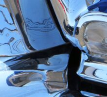 1955 GMC Pickup Street Rod Chrome Bumper - Liquid Metal Sticker