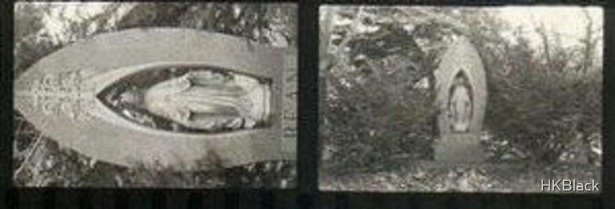Negatve-Contact  of Mary Gravestone. by HKBlack