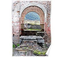 Lithgow Blast Furnace - Many Dimensions Poster