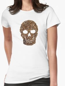 Skull & Beans Womens Fitted T-Shirt