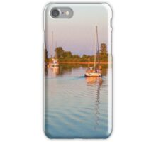 Impressions of Summer - Sailing Home at Sundown iPhone Case/Skin