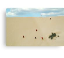 Dune Scramble,S.A. Metal Print