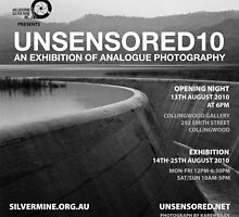 Unsensored10: Photography exhibition by Roberts Birze