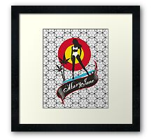 Mary Jane Framed Print