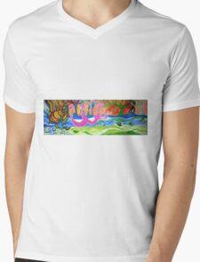 Power Of Love Mens V-Neck T-Shirt