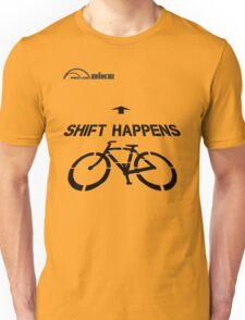 Cycling T Shirt - Shift Happens Unisex T-Shirt