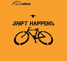 Cycling T Shirt - Shift Happens Unisex T-Shirt