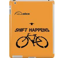 Cycling T Shirt - Shift Happens iPad Case/Skin