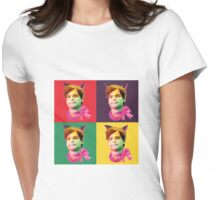 Gubler Cat popart Womens Fitted T-Shirt