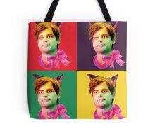 Gubler Cat popart Tote Bag