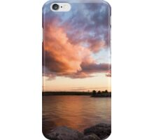 Colorful Summer Sunset - Lake Ontario Impressions iPhone Case/Skin
