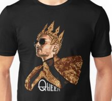 Queen Bill - White Text Unisex T-Shirt