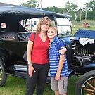 Ford 1923 Model T by Debbie Robbins