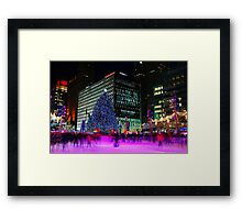 Made In Detroit  -  Campus Martius Park Framed Print
