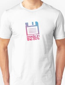 Made in the eighties - pink T-Shirt