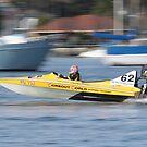 St George&#x27;s Motorboat Club Practice day speedboats by Dean Woodyatt