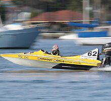 St George's Motorboat Club Practice day speedboats by Dean Woodyatt