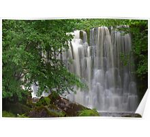 Scale Haw Waterfall Poster