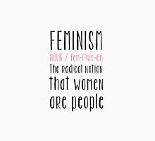 Feminism definition Womens Fitted T-Shirt