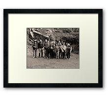 """""""The Tassie Troops"""" Framed Print"""