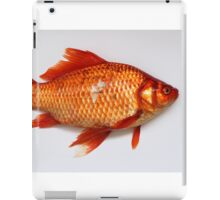 Goldfish Need Breaks Too by Kordial Orange iPad Case/Skin