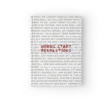 Words Start Revolutions Hardcover Journal