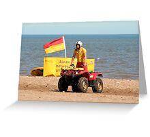 Baywatch British Style Greeting Card