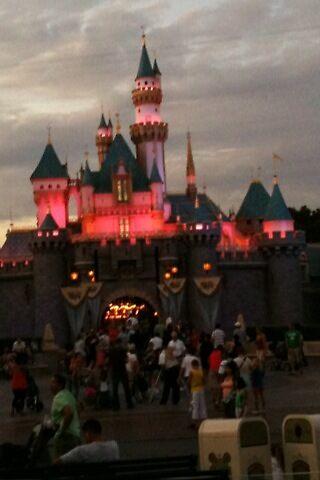 Disneyland Castle at dusk by DaylightMagic