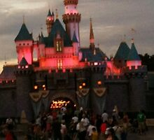 Disneyland Castle at dusk by DaylightMagic