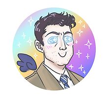Fluffy Castiel by enerjax